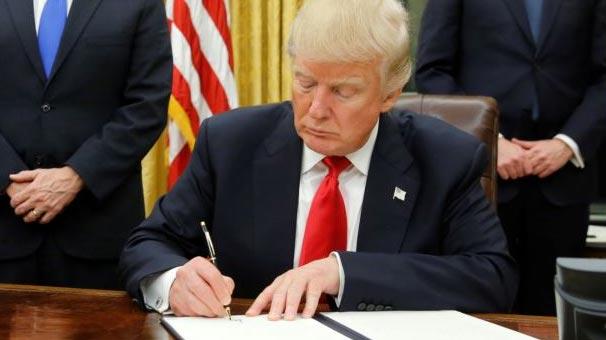 Trump'tan yeni yaptırım kararı! İmzaladı ve açıkladı...