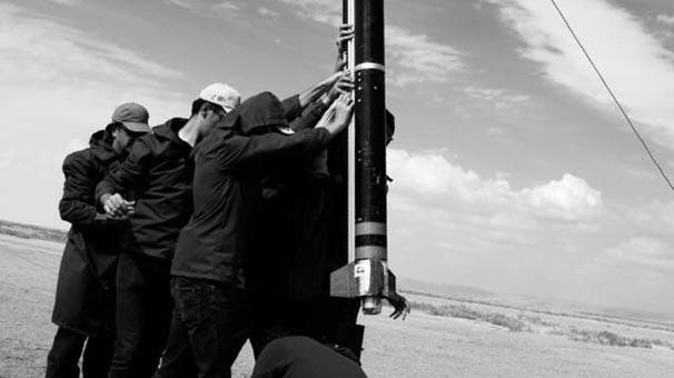 Tuz Gölü'nde tarihi an! Yerli roket böyle fırlatıldı