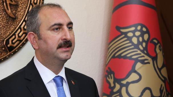 Adalet Bakanı Abdulhamit Gül'den flaş açıklama!