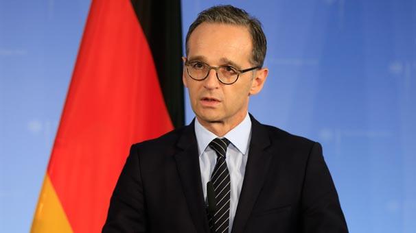 Almanya Dışişleri Bakanı Maas'tan Türkiye'ye teşekkür