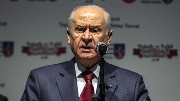 MHP Genel Başkanı Bahçeli'den yerel seçimde 'Cumhur İttifakı' mesajı