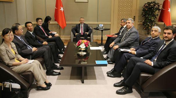 Cumhurbaşkanı Yardımcısı Fuat Oktay, Çin Hükümeti Özel Temsilcisi ile görüştü