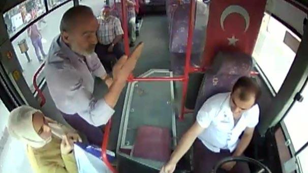 Şoför otobüse binen yolcunun dilini görünce...