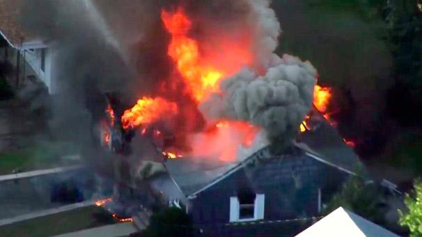 Son dakika... ABD'de doğalgaz patlamaları: 1 ölü