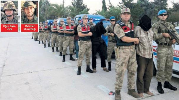 9 terörist  Raco'da paketlendi