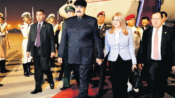 Maduro'dan Pekin'e övgü: Çin bizim ablamız...