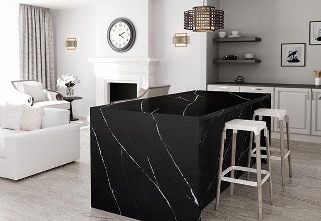 Mutfak dekorasyonunda doğal taş desenleri ve endüstriyel tarza ilgi artıyor
