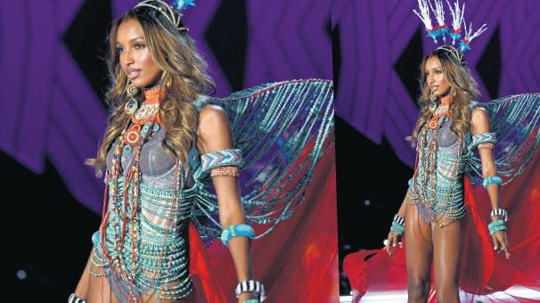 'Fantastik' Victoria's Secret Meleği