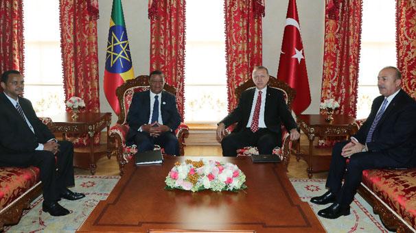 Cumhurbaşkanı Erdoğan, Halbusi'yi kabul etti