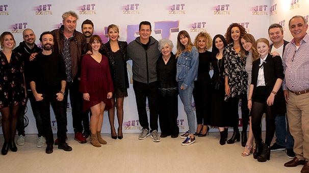 'Jet Sosyete'nin ikinci sezon heyecanı