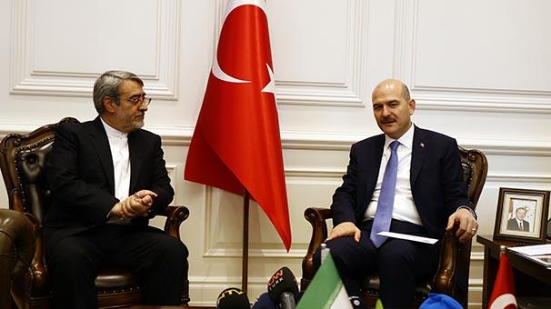 Bakan Soylu, İran İçişleri Bakanı Rahmani ile bir araya geldi