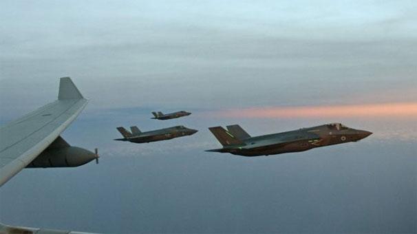 Son dakika... ABD F-35'lerini indirdi!