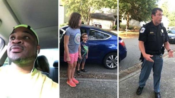 ABD'de beyaz çocuklara bakan siyah: Polise ihbar edildim, sorgulandım