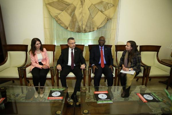 Cumhurbaşkanı Yardımcısı Oktay, Ekvator Ginesi'nde