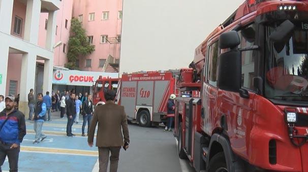 Son dakika: İstanbul'da hastanede korkutan yangın! Hastalar tahliye edildi