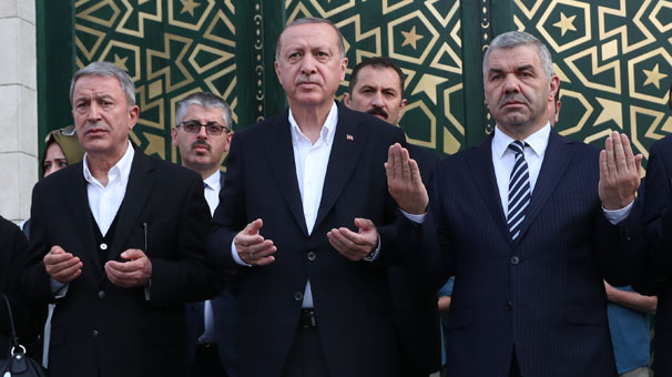 The Hulusi Akar Mosque Was Inaugurated