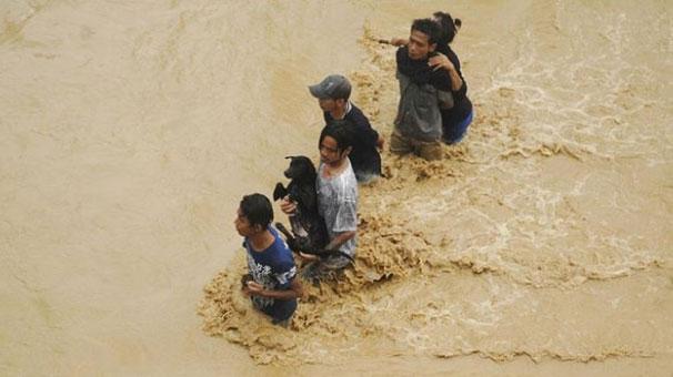 Çin'de felaket: 6 binden fazla kişi tahliye edildi