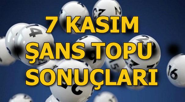 Şans Topu sonuçları açıklandı! 7 Kasım MPİ-Şans Topu çekilişi