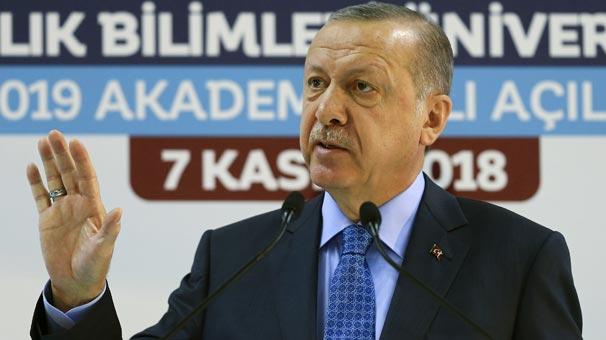 Cumhurbaşkanı Erdoğan müjdeyi verdi: Aralık ayında açıyoruz