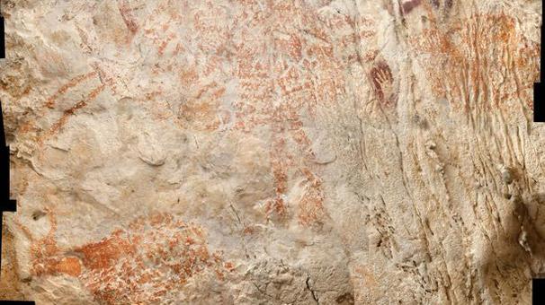 'En eski hayvan resmi' Borneo Adası'ndaki bir mağarada bulundu