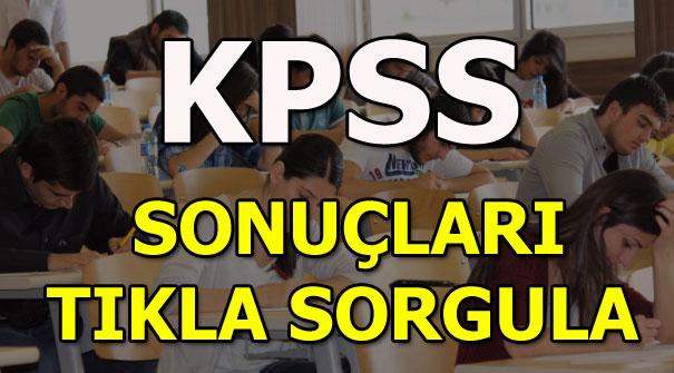 KPSS ortaöğretim (lise) sınav sonuçları ve soru-cevapları yayınlandı! 2018 KPSS sonuç sorgula