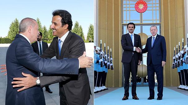 Son dakika... Cumhurbaşkanı Erdoğan Katar Emiri Sani'yle görüşecek!