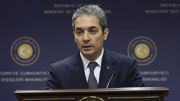 Yunan bakanın açıklamalarına Dışişleri Bakanlığı'ndan yanıt