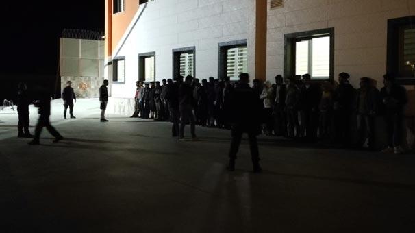 Hatay'da 28 göçmen yakalandı