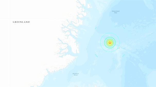 Son dakika... Grönland'da 6.8 büyüklüğünde deprem