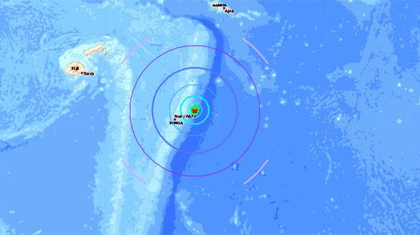 Son dakika... Tonga'da 6.3 büyüklüğünde deprem!