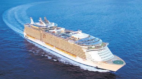 Cruise seyahatleri yoğun ilgi görüyor