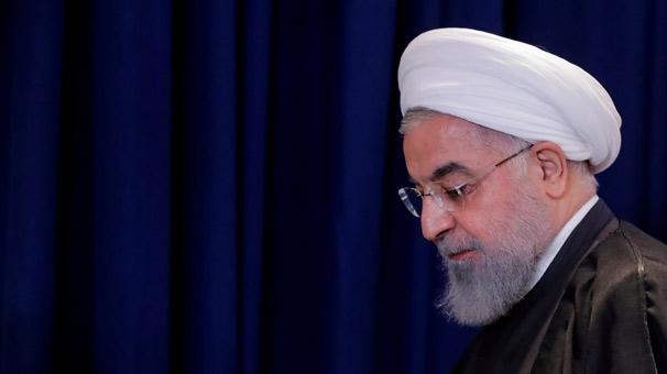 Son dakika... Ruhani: İran, ABD yaptırımlarına teslim olmayacak