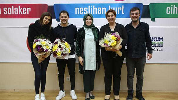 Aleyna Solaker ile Cihan Şimşek'ten anlamlı mesaj