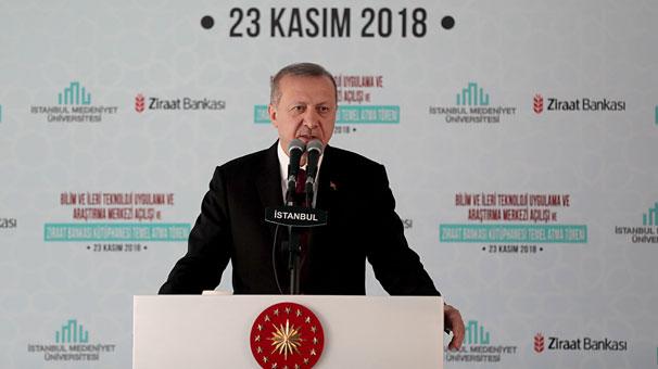 Cumhurbaşkanı Erdoğan: 5-10 sene sonra onları geçeceğiz