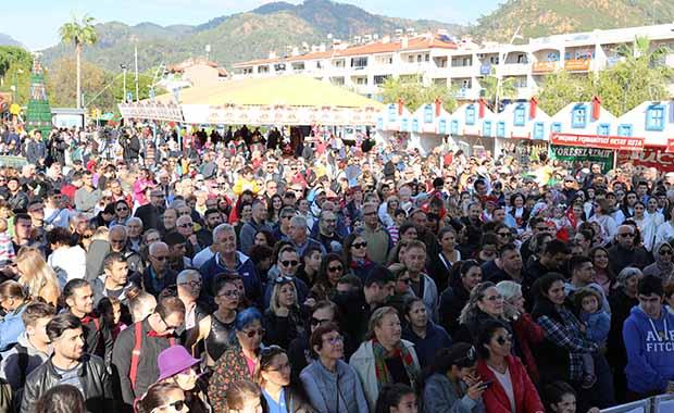 Marmaris'te bir aylık yeni yıl festivali