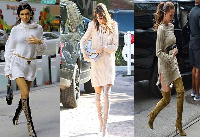Trend alarmı: Kazak elbiseler