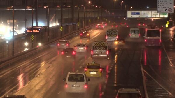 Son Dakika... İstanbullular dikkat! Yağış etkisini artırıyor