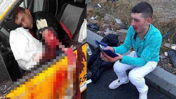 Çarşı izninde taksi çalan 2 er, polisten kaçarken kaza yaptı!