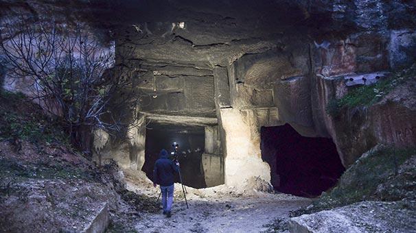 Onlarca hayvan mağaranın içinde... Dehşet olay!