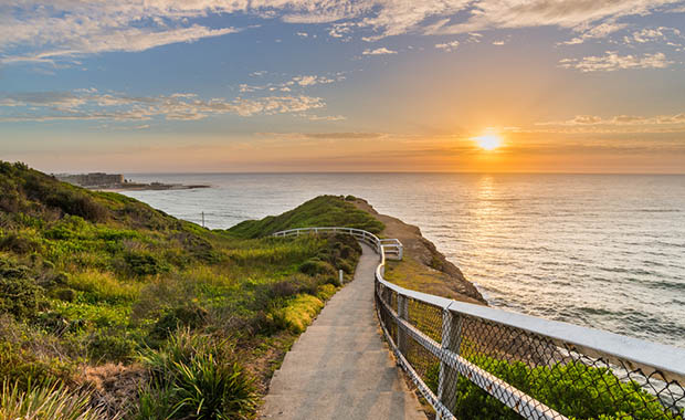 Sydney'e dünyanın en uzun yürüyüş yolu