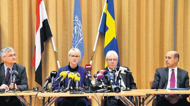 Yemen görüşmeleri İsveç'te başladı