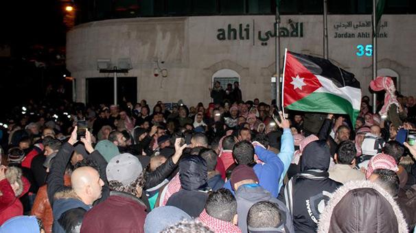 Ürdün hükümeti protesto hakkına saygı duyduğunu açıkladı