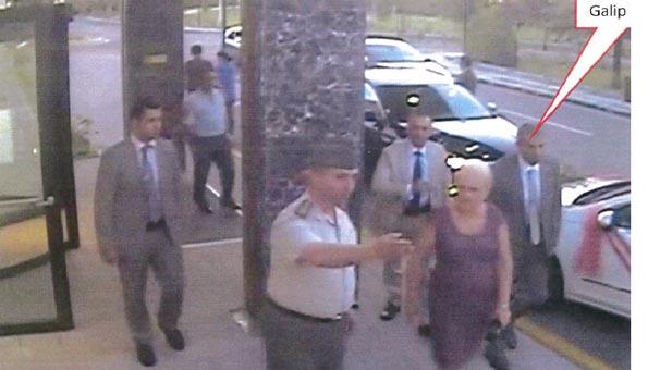 Son dakika... Galip Mendi'nin kaçırılma anı güvenlik kamerasında