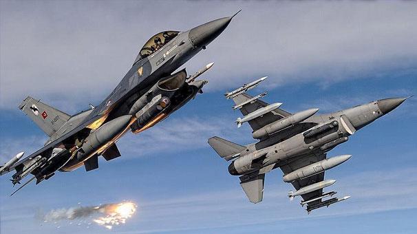 Şengal ve Mahmur'daki PKK hedefleri bombalandı