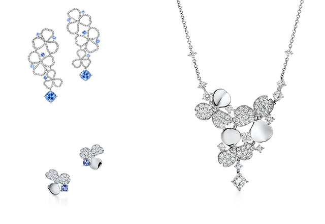 Krakoff'un Tiffany&Co. için tasarladığı ilk koleksiyon: Tiffany Paper Flowers