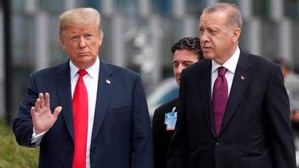 Erdoğan'ın sorusu Trump'ı sorgulamaya zorladı! Yanındakine dönüp...