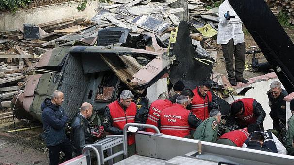 Son Dakika... Sancaktepe'deki helikopter kazasında yaralanan asker şehit oldu