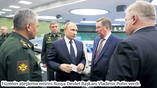 Rusya'nın yeni hipersonik füzesi testi geçti