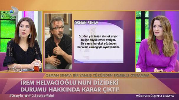 İrem Helvacıoğlu için karar verildi