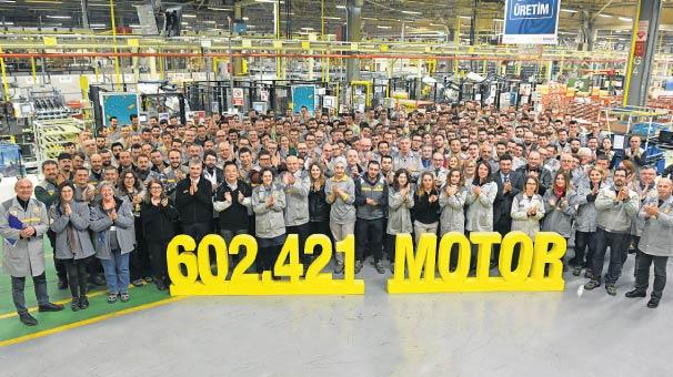 Renault'dan rekor üretim